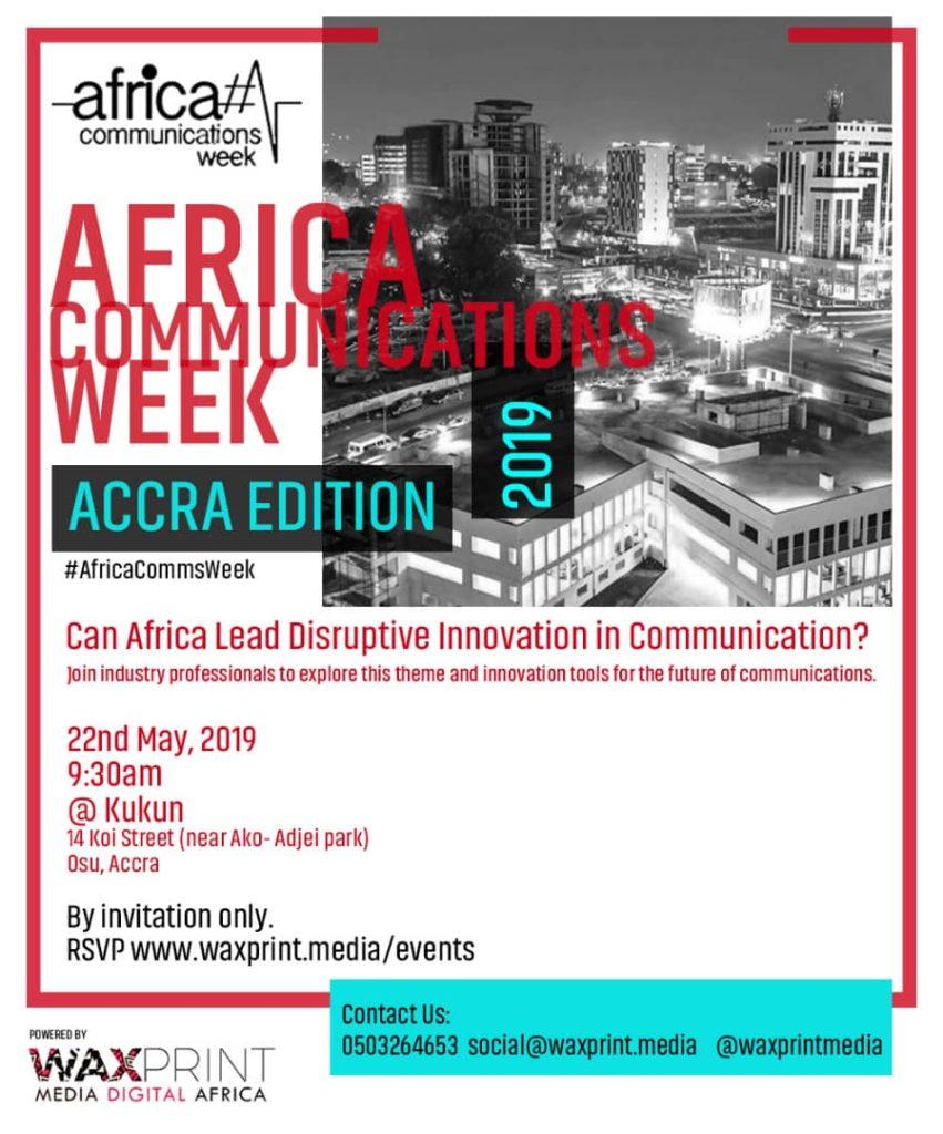 AfricaCommsWeek 2019 - Accra - Africa Communications Week